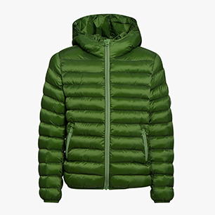 J.PADDED JACKET SMU FACTORY, GREEN BOTANIC, medium