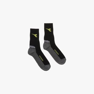 COTTON SUMMER SOCKS, NEGRO/GRIS, medium