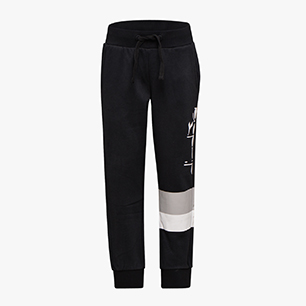 JB.CUFF PANTS 5PALLE, BLACK, medium
