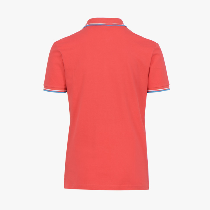 POLO PQ, TOMATO RED, large
