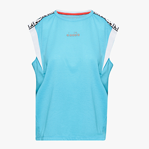 L. SS T-SHIRT BE ONE, SKY-BLUE SCUBA, medium