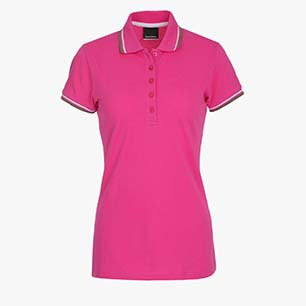 L.POLO SS PQ, SHOCKING PINK, medium