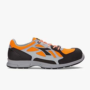 D-FLEX LOW BRIGHT S1P SRC, ORANGE FLUO/GRAY, medium