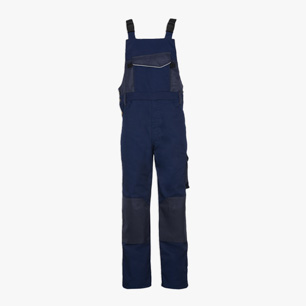 BIB OVERALL POLY, CLASSIC NAVY, medium