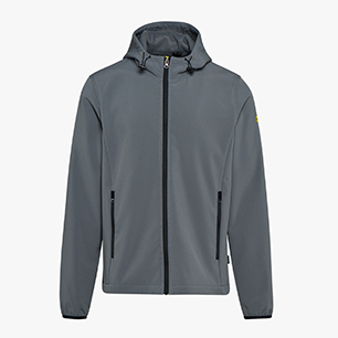 SOFTSHELL LEVEL ISO 13688:2013, STEEL GREY, medium