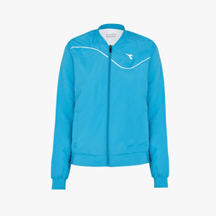 L. JACKET COURT, BLEU FLUORESCENT, medium