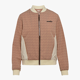 L. FZ JACKET CHALLENGE, MAHOGANY ROSE/WHISPER WHITE, medium
