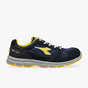 RUN II TEXT ESD LOW S1P SRC ESD, DARK NAVY/DARK NAVY, medium