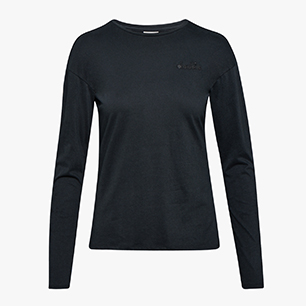 L.LS T-SHIRT CORE, NEGRO, medium