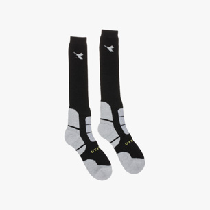 MERINOS WIN. SOCKS, BLACK/GREY, medium