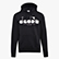 HOODIE 5PALLE, BLACK/OPTICAL WHITE, swatch