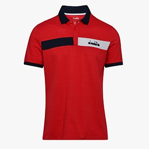 POLO STATEMENT SS, TRUE RED, medium