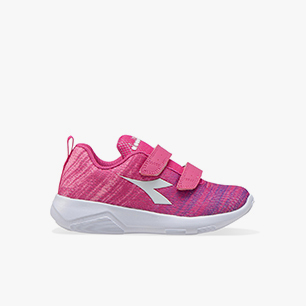X RUN LIGHT 2 JR V, VIOLET AZALEA/WHITE, medium