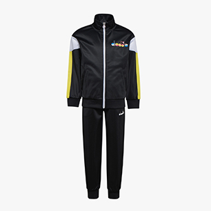 JB. TRACKSUIT FZ DIADORA CLUB, BLACK, medium
