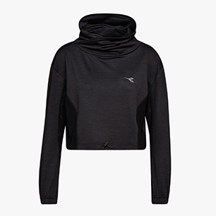 L. SWEAT, BLACK, medium