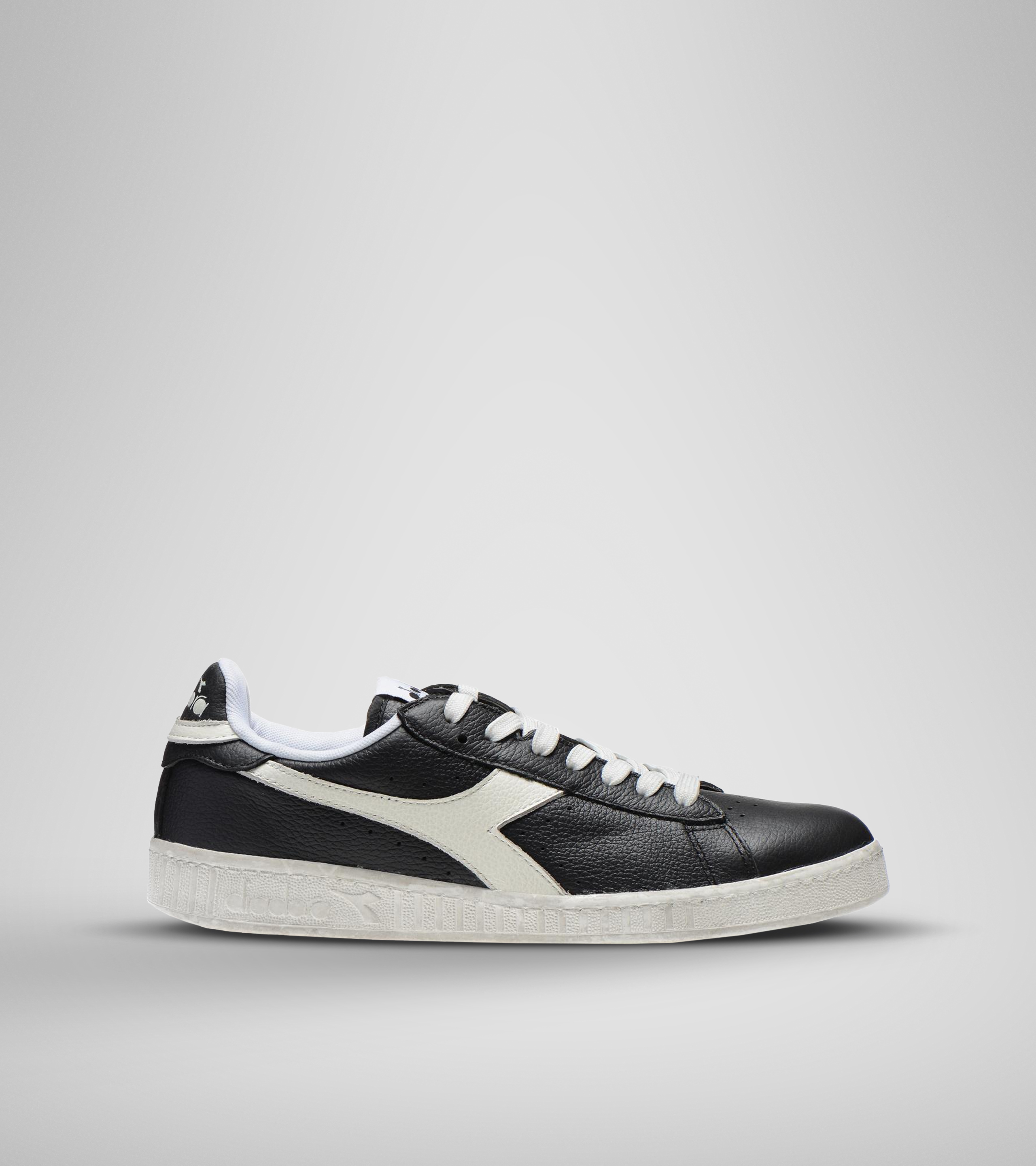 GAME L LOW WAXED, BLACK/WHITE, swatch