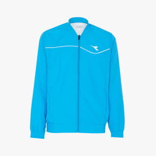 JACKET COURT, BLEU FLUORESCENT, medium