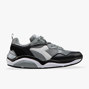 WHIZZ RUN, ASH GREY/WHITE, medium