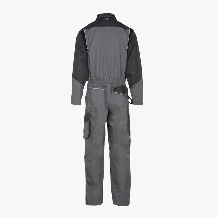 COVERALL POLY ISO 13688:2013, STEEL GREY, large