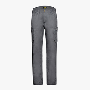 PANT STAFF LIGHT CARGO COTTON, STEEL GREY, medium