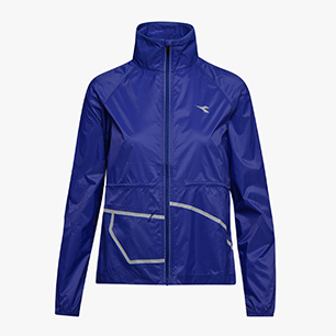 L. WIND JACKET, BLUE CLEMATIS, medium