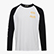 PAURA LS T-SHIRT BASEBALL, OPTICAL WHITE/BLACK, swatch
