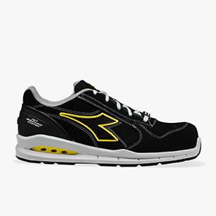 RUN NET AIRBOX LOW S3 SRC, BLACK/BLACK , medium