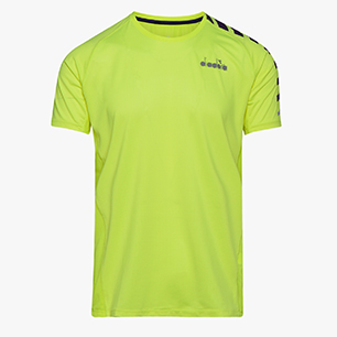 SUPER LIGHT SS T-SHIRT, FLUO YELLOW DD, medium