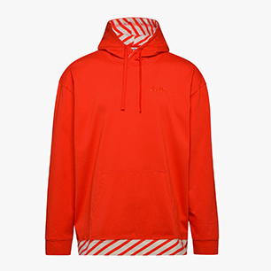 HOODIE BARRA, FIESTA RED, medium