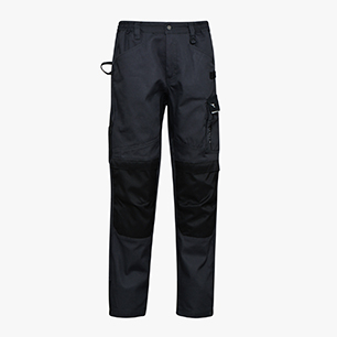 PANT. EASYWORK PERF. ISO 13688:2013, BLACK COAL, medium