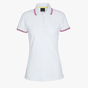 L.POLO SS PQ, OPTICAL WHITE, medium