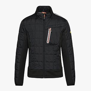 LIGHT PADDED JACKET TECH ISO 13688:2013, SCHWARZ, medium