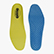 INSOLE RUN PU FOAM, YELLOW UTILITY/NAVY, swatch