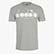 T-SHIRT SS BL, LIGHT MIDDLE GREY MELANGE , swatch