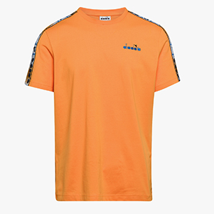 T-SHIRT SS 5PALLE OFFSIDE, ORANGE ZINNIA, medium