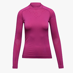 L. TURTLE NECK ACT, VIOLET RASPBERRY, medium