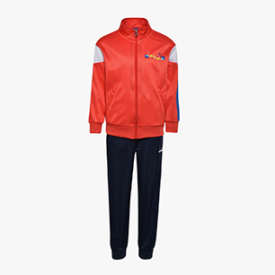 JB. TRACKSUIT FZ DIADORA CLUB, POPPY RED, medium