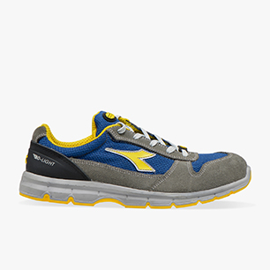 RUN II TEXT ESD LOW S1P SRC ESD, CASTLE ROCK/INSIGNIA BLUE, medium
