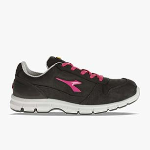 RUN G LOW S3 SRC, BLACK/FUCSIA RED, medium