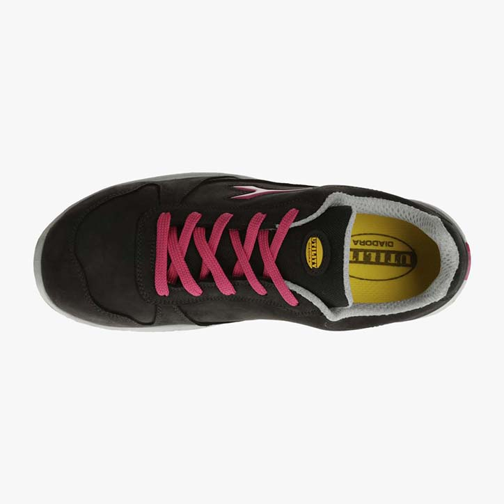 RUN LOW S3 SRC, BLACK/FUCSIA RED, large