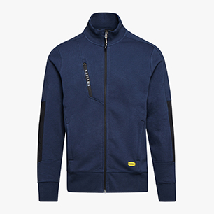 SWEATSHIRT FZ LITEWORK, CLASSIC NAVY, medium