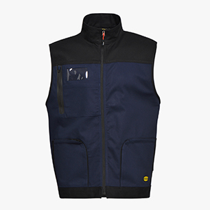 GILET STRETCH ISO 13688:2013, CLASSIC NAVY, medium