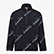TRACK TOP 1/2 ZIP 5PALLE AOP, BLACK, swatch