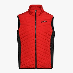 LIGHT VEST CORE, DARK RED, medium
