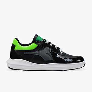MI BASKET H LOW MDS FLUO, GREEN FLUO, medium