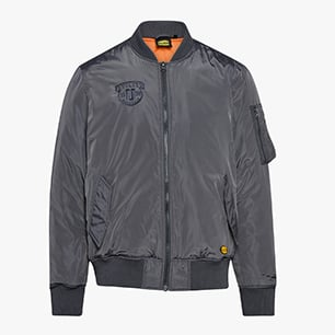 BOMBER D-FLIGHT ISO 13688:2013, PRUNE GRISÉ, medium