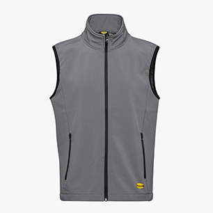 SHELL VEST LEVEL ISO 13688:2013, STAHLGRAU, medium