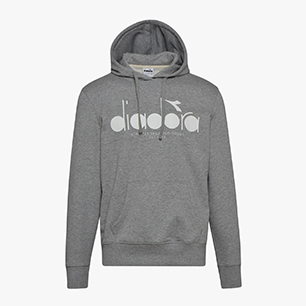 HOODIE 5PALLE, LIGHT MIDDLE GREY MELANGE , medium