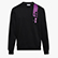 SWEATSHIRT CREW ICON, NEGRO, swatch