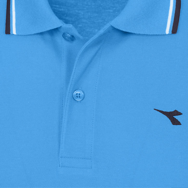 POLO PQ, SKY-BLUE DIVA, large